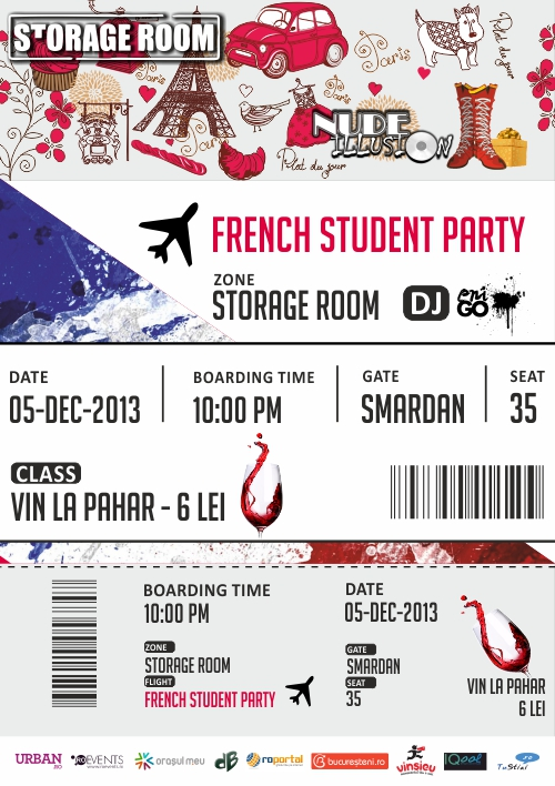 French Student Party_A1